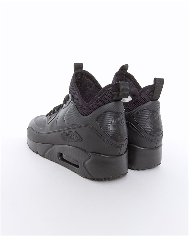 Nike Air Max 90 Ultra Mid Winter   924458 004   Black   Sneakers   Skor   Footish
