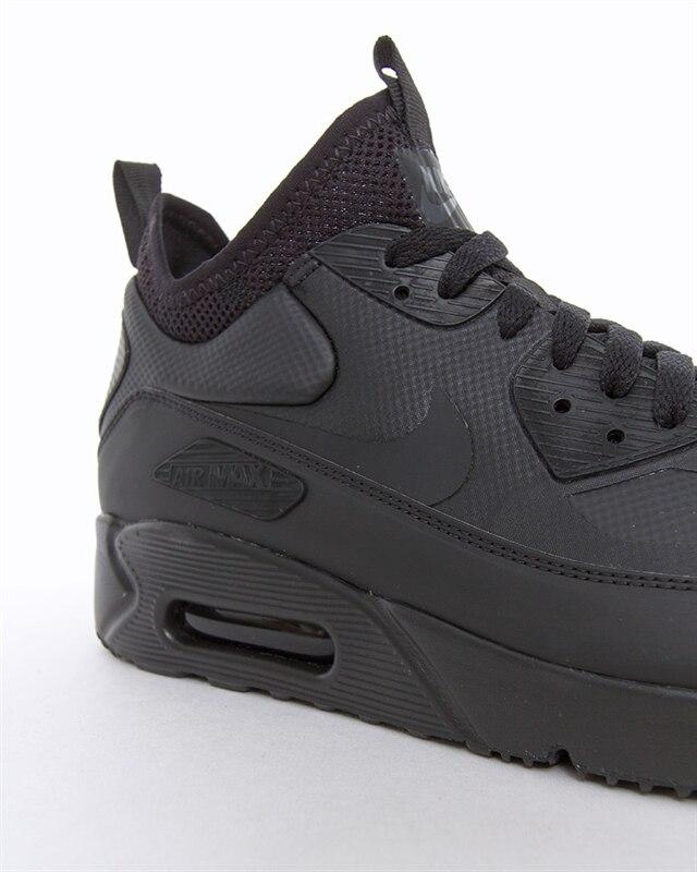 Nike Air Max 90 Ultra Mid Winter | 924458 004 | Black | Sneakers | Skor | Footish