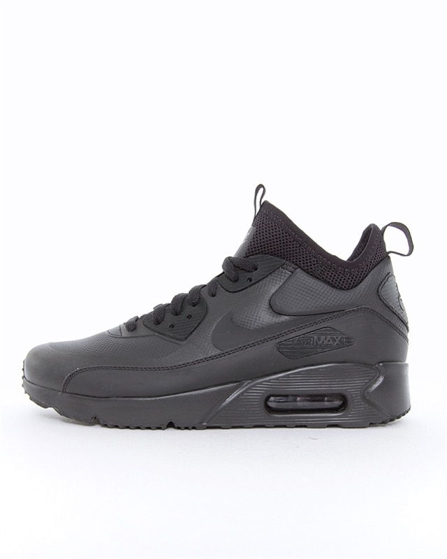 half off new photos save up to 80% Nike Air Max 90 Ultra Mid Winter | 924458-004 | Black | Sneakers | Skor |  Footish