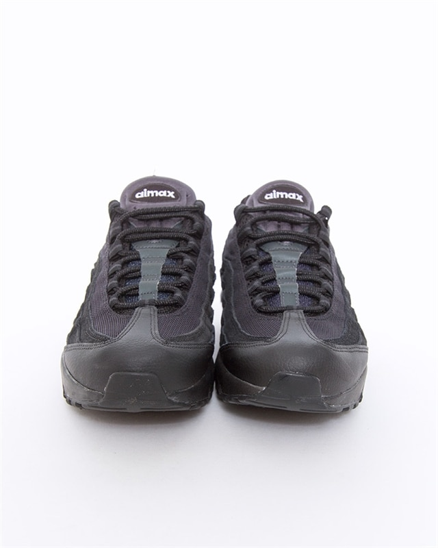 Details about Nike Air Max 95 Mens UK Size 7 11 Brand New Triple Black NEW 2019 AT9865 001