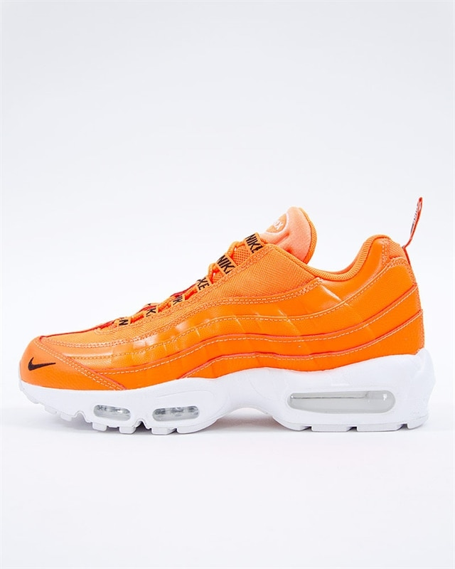 bca1fcc68a Nike Air Max 95 Premium | 538416-801 | Orange | Sneakers | Skor ...