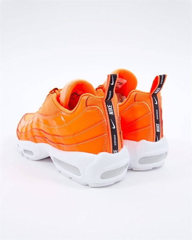 best service e1069 f0f4d Nike Air Max 95 Premium   538416-801   Orange   Sneakers   Skor ...