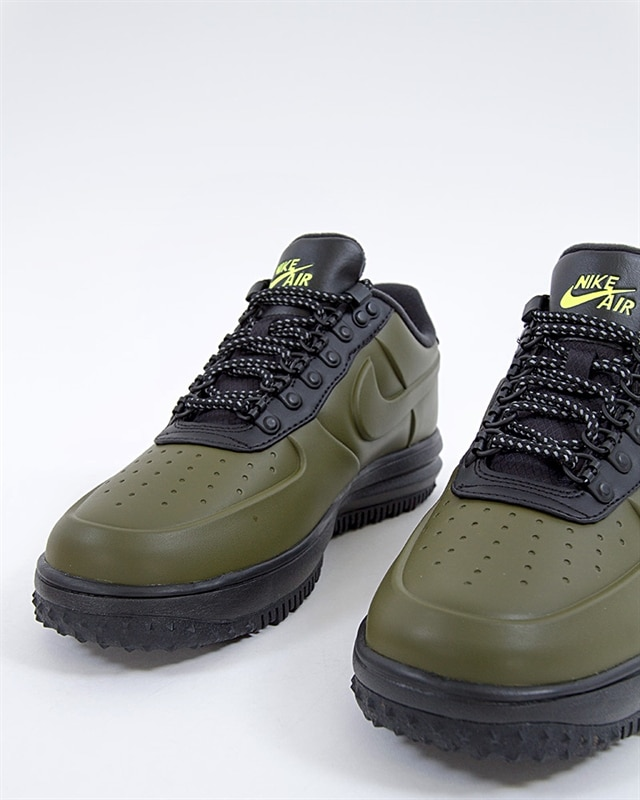 new style 80c21 1f105 ... shop nike lunar force 1 low duckboot aa1125 301 green sneakers skor  footish 2e727 9bf95