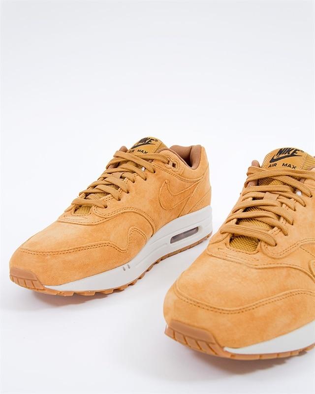 Nike Air Max 1 Premium WheatLight Bone Gum 875844 701