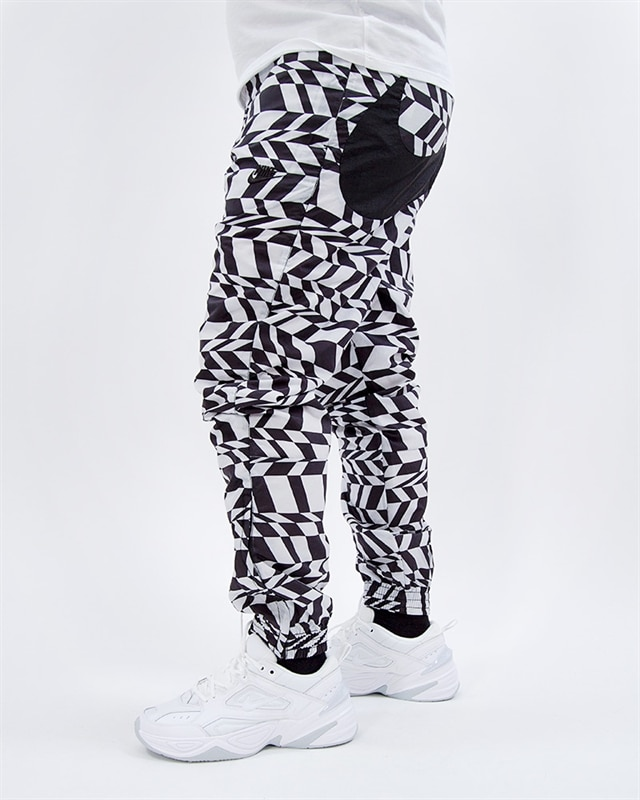 48f6a0b97 Nike NSW Printed Swoosh Woven Pant - AO0863-100 - White - Footish ...