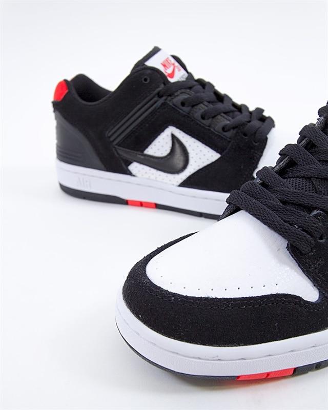 buy popular 9f8c3 f8692 Nike SB Air Force II Low   AO0300-006   Black   Sneakers   Skor ...