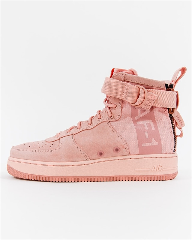 031f9c7fe574 Nike SF Air Force 1 Mid Suede - AJ9502-600 - Pink - Footish  If you ...