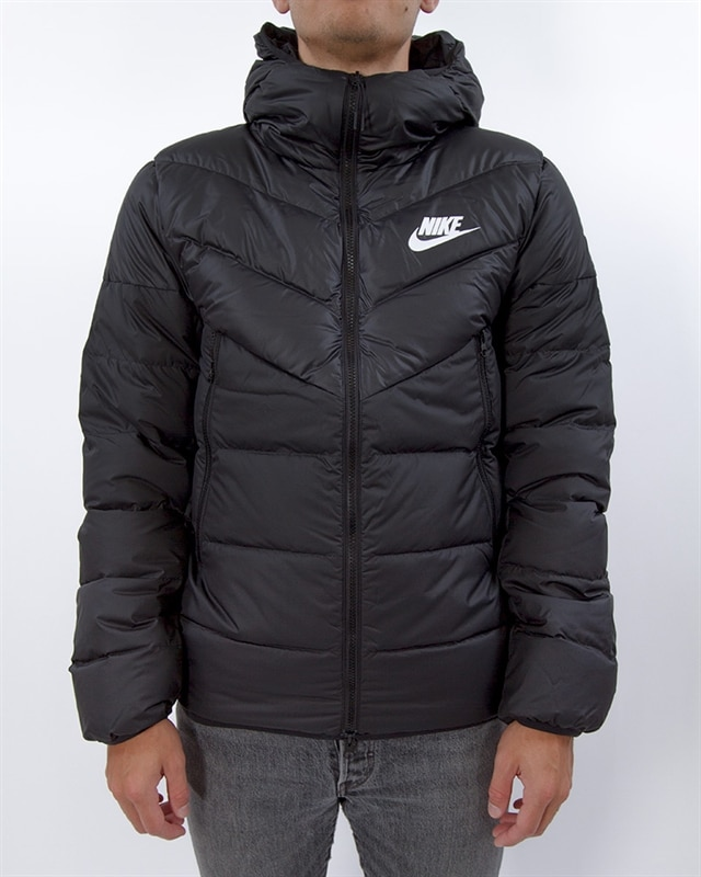 259480c77 Nike Sportswear Windrunner Down Fill Jacket | 928833-010 | Black | Kläder |  Footish