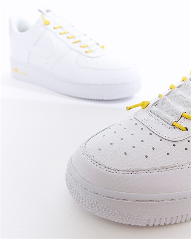 Nike Air Force 1 '07 Lux WhiteChrome YellowBlack For Sale