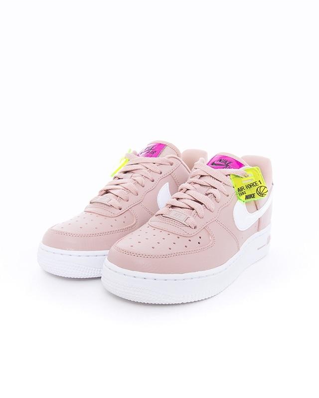 Köp nu Dam Nike Cortez Leather Svart Vivid Rosa Skor