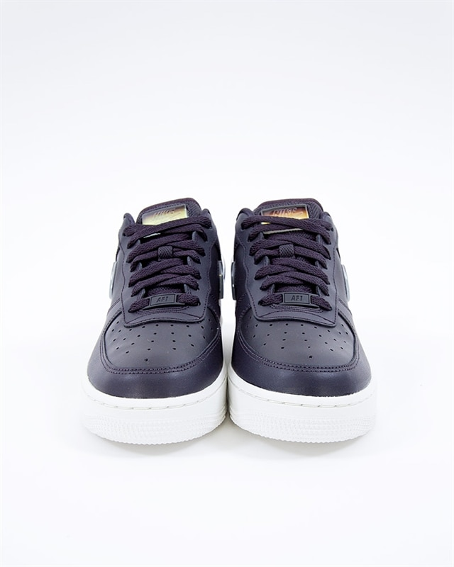 new styles aec90 1a0af Nike Wmns Air Force 1 07 SE Premium   AH6827-004   Gray   Sneakers ...