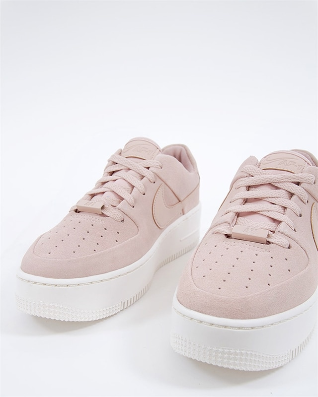 low priced 7c85c ecf01 Nike Wmns Air Force 1 Sage Low  AR5339-201  Pink  Sneakers