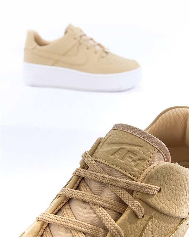 e716a96df Nike Wmns Air Force 1 Sage Low | AR5339-202 | Brown | Sneakers ...