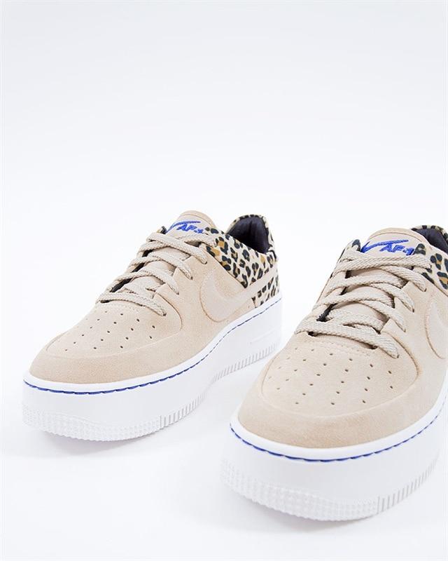Nike Wmns Air Force 1 Sage LO Premium | BV1979 200 | Brun