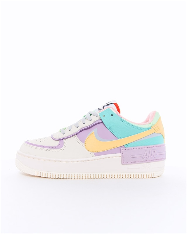 Dam Nike Air Force 1 Dam Vit Rosa Skor Nike Air Force 1 Skor