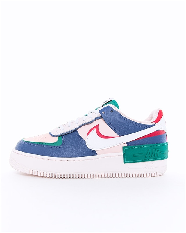 Nike Wmns Air Force 1 Shadow | CI0919 400 | Blå | Sneakers | Skor | Footish