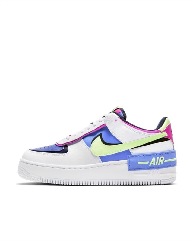 Nike Wmns Air Force 1 Shadow | CJ1641 100 | Vit | Sneakers | Skor | Footish