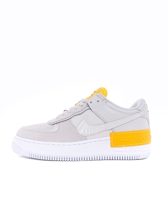 Nike Wmns Air Force 1 Shadow | CU3446 001 | Grå | Sneakers | Skor | Footish