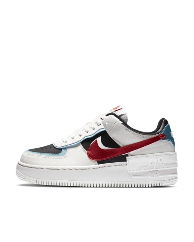 Nike Wmns Air Force 1 Shadow | DA4291 100 | White | Sneakers | Shoes | Footish
