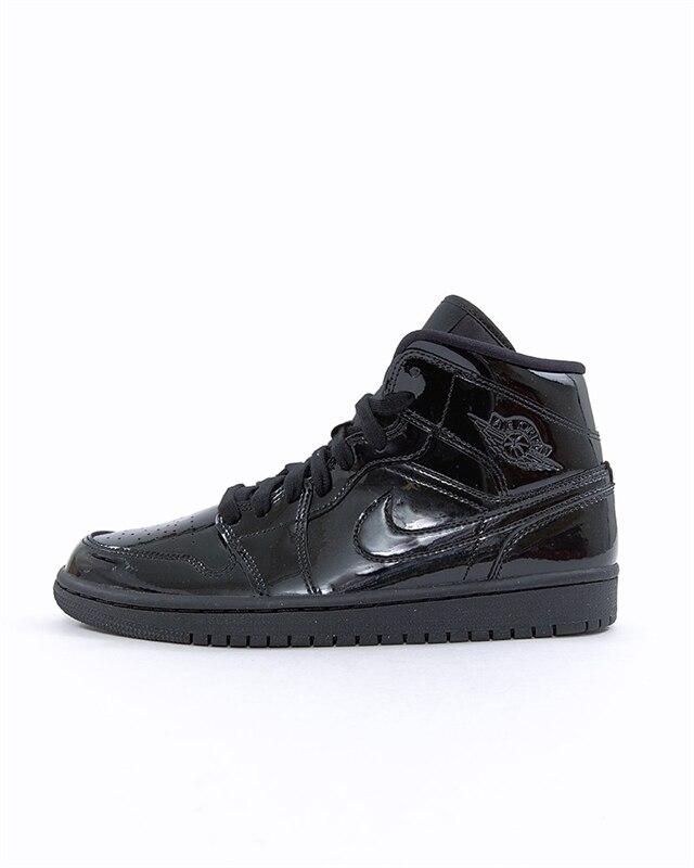 best website 6b71d f5d9b Nike Wmns Air Jordan 1 Mid | BQ6472-002 | Black | Sneakers | Skor ...