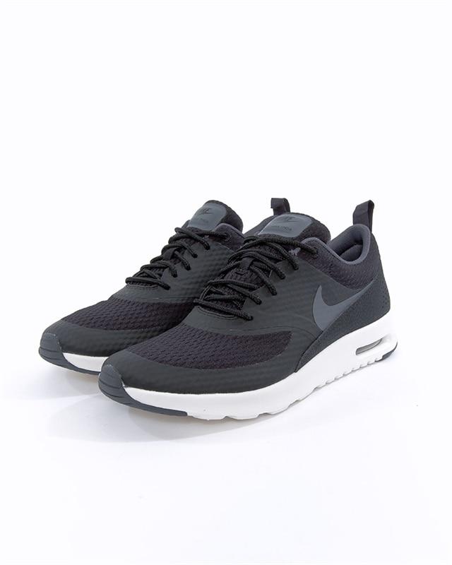 stor rea Nike Air Max Thea Lx Svart Dam Löparskor, svarta