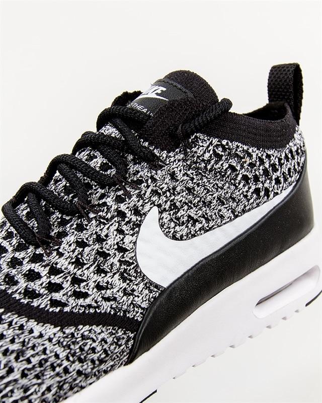Nike Air Max Thea Ultra Flyknit Womens BlackWhite Shoes UK
