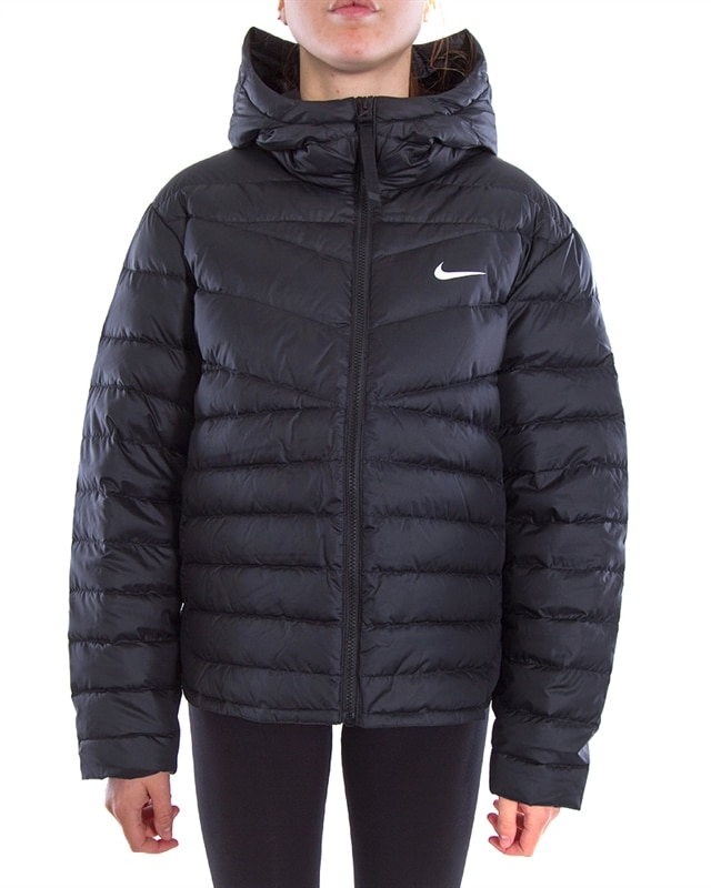 Nike Wmns NSW Windrunner Down Fill Jacket | CU5094 011 | Svart | Kläder | Footish