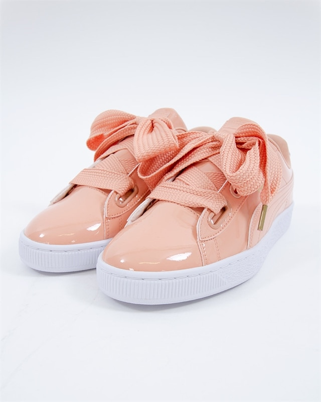 7e1024e638 Puma Basket Heart Patent - 363073-16 - Pink - Footish  If you re into  sneakers