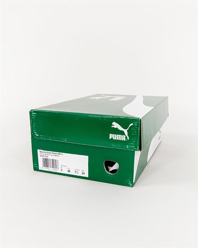 lowest price 47959 09527 Puma Basket Heart Patent Wmns