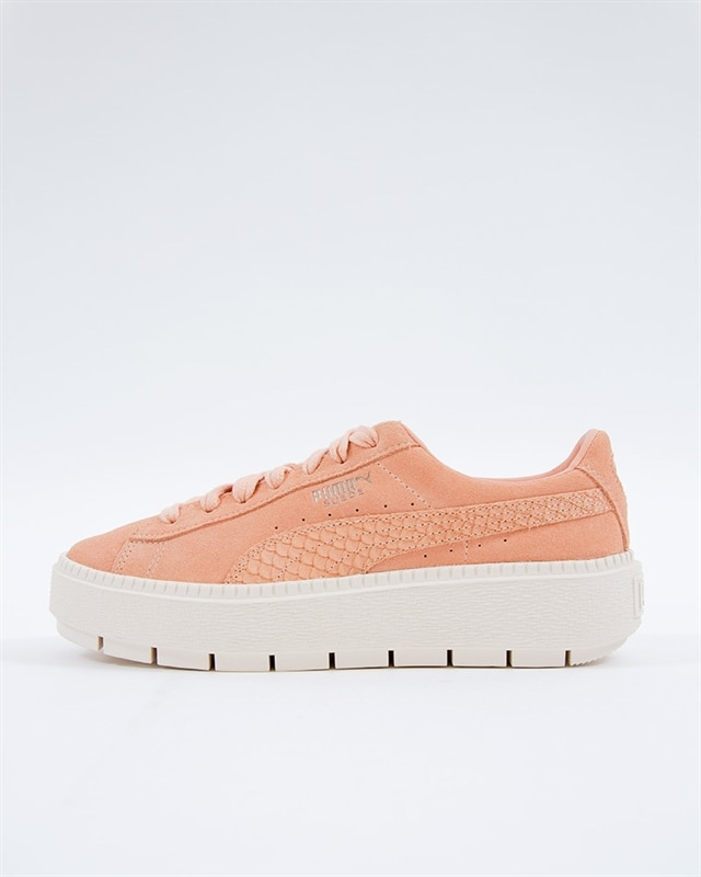 cheap for discount 1d215 58b34 Puma Suede Platform Trace Animal | 367814-03 | Pink | Sneakers | Skor |  Footish