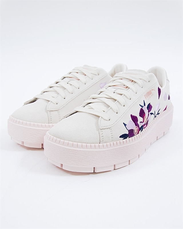 Puma Platform 367810 Pink You're Into Flowery FootishIf Sneakers Suede 01 Trace TZOuwPkXi