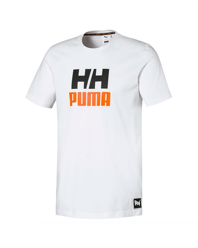 info för 100% toppkvalitet san francisco Puma X Helly Hansen Tee | 597085-02 | White | Kläder | Footish