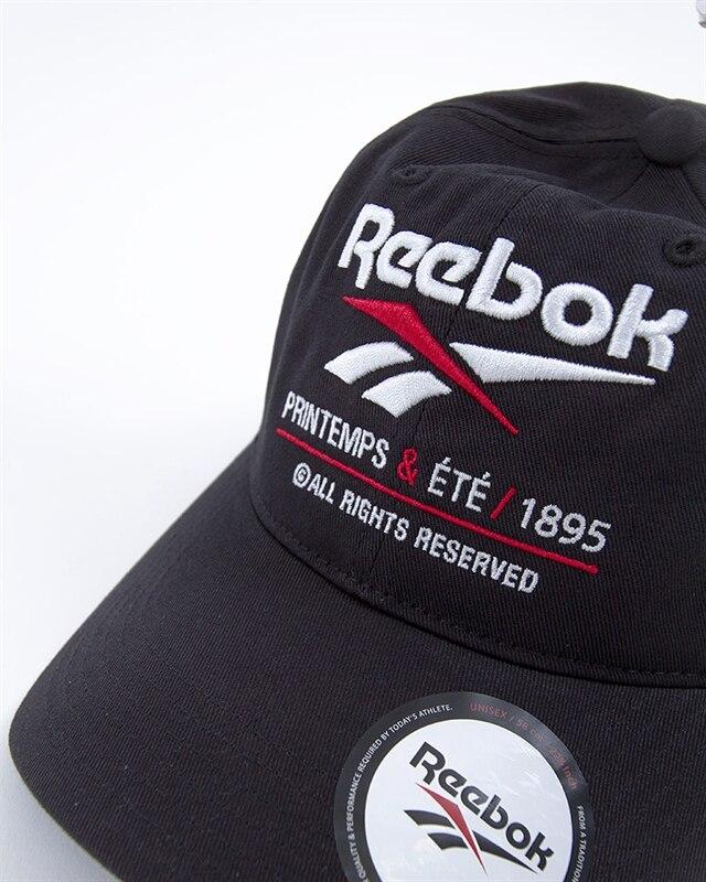 1e256c41e7f7a7 Reebok Classic Printemp Ete Cap | DU7519 | Black | Kläder | Footish