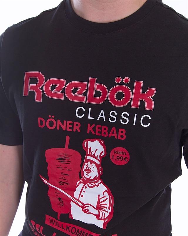 Reebok T Shirt Herren CL ITL SUSHI TEE EA3573 Blau Herren T