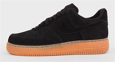 Nike Air Force 1 Dam Svart