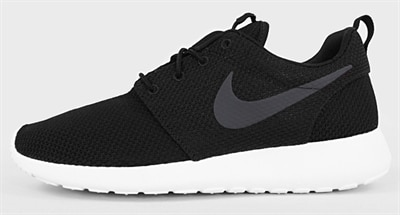 cheap for discount f1074 bcb56 nike roshe run dam svart