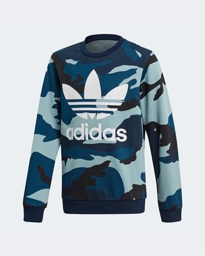 86f38de9d8d adidas Originals Camo Crew