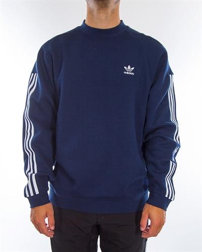 Details about Adidas DX3720 Men originals Kaval Crew Sweat LS shirts black