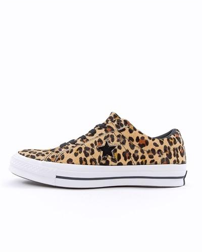 low priced 00ee1 6b203 Converse One Star OX Cheetah (163386C)
