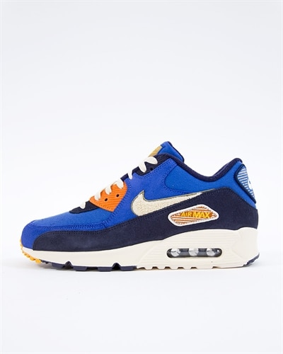 buy popular d2505 9865c discount skor dam sneakers nike air max 90 lx w beige orange 89efb c2303   usa nike air max 90 premium se 6151c cd33c