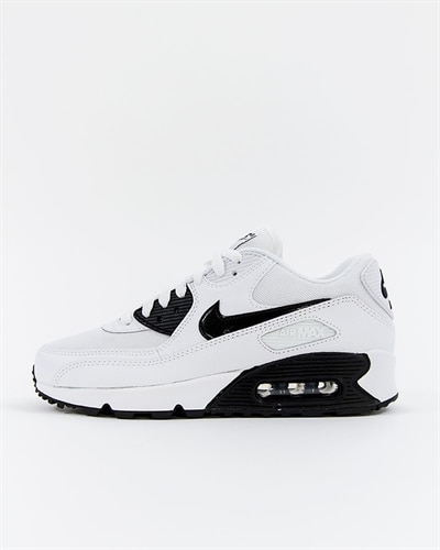 nike air max 90 black with white stitching