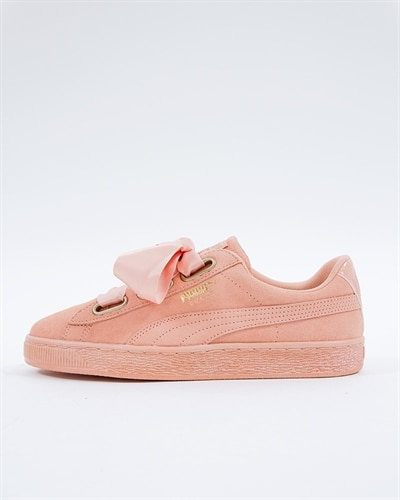 8a4542be0e Puma Suede Heart Satin Wns