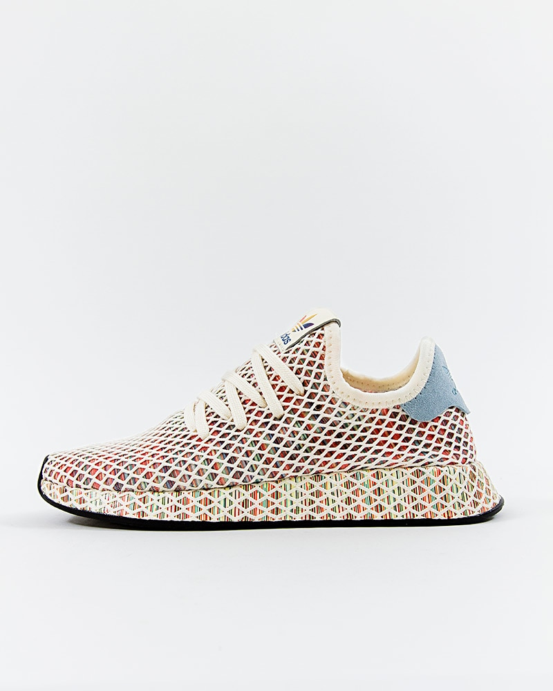 9dcd3b6a789be adidas Originals Deerupt Pride - CM8474 - White - Footish  If you re ...