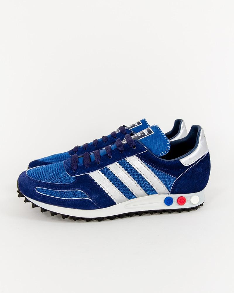 Adidas Originals Mesh Blue Black White La Trainer 'Classic