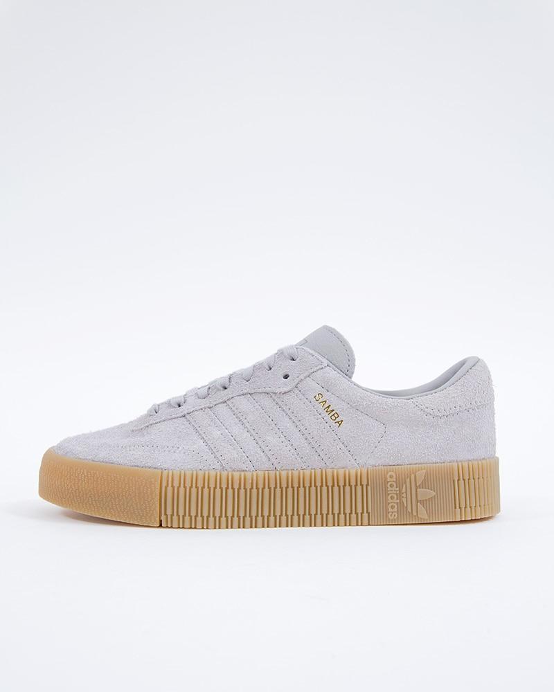 quality design 5164e 55d5a adidas Originals Sambarose W  B37860  Gray  Sneakers  Skor
