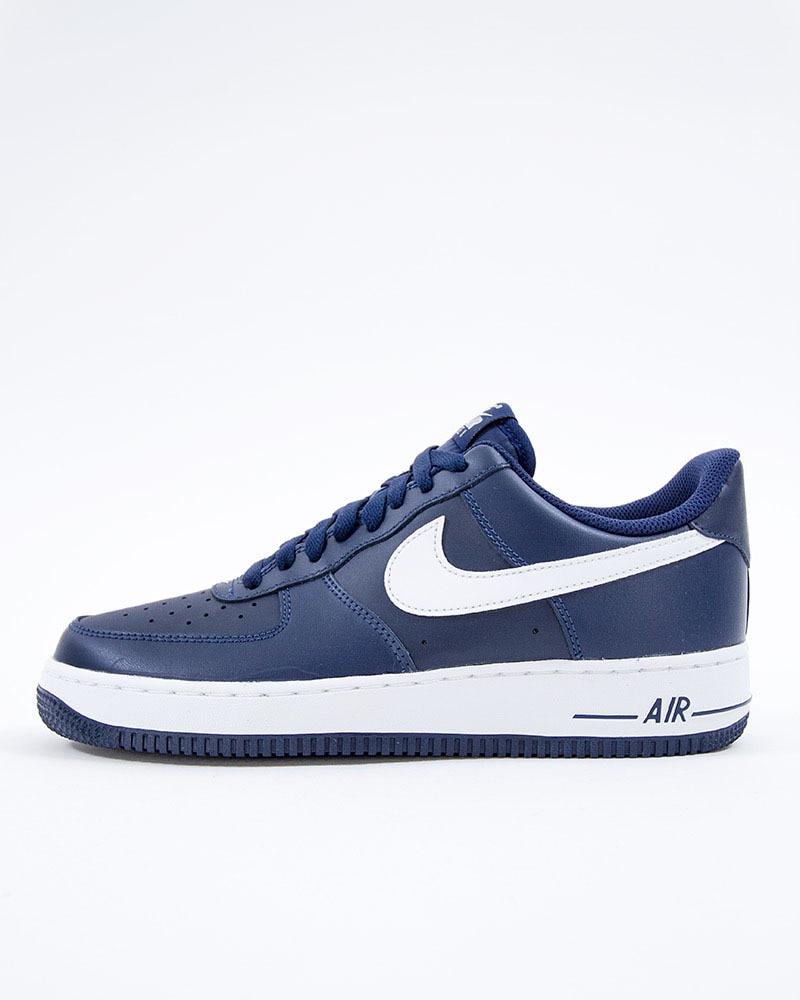 new product af484 4eeb0 Nike Air Force 1 07  488298-436  Blue  Sneakers  Skor  Footi
