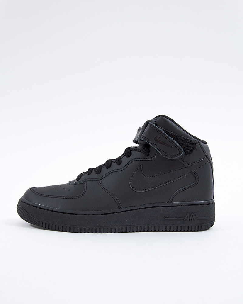 grossiste d30b5 e2412 Nike Air Force 1 Mid (GS) Basketball | 314195-004 | Black | Sneakers | Skor  | Footish