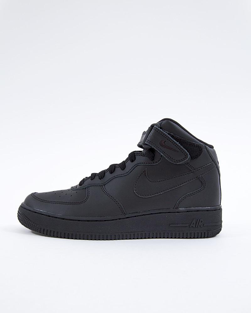 grossiste cef67 e5b50 Nike Air Force 1 Mid (GS) Basketball | 314195-004 | Black | Sneakers | Skor  | Footish