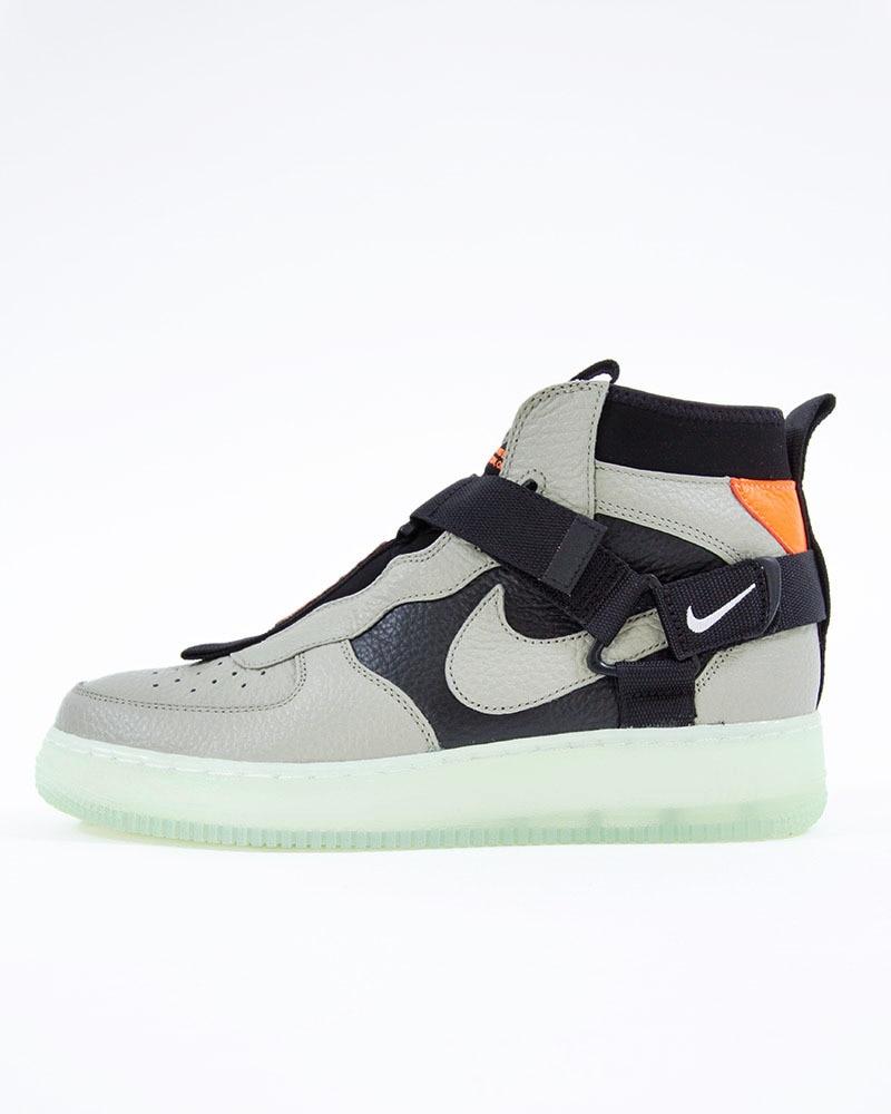 sports shoes 306dd 7401b Nike Air Force 1 Utility Mid   AQ9758-300   Green   Sneakers   Skor ...