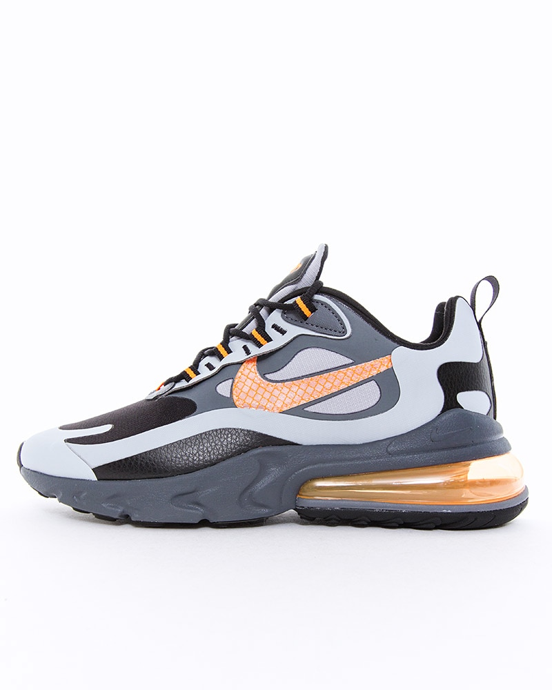 Nike Air Max 270 React WTR Sneakers Wolf GreyTotal OrangeBlackDark Grey